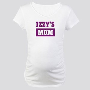 Izzys Mom Maternity T-Shirt