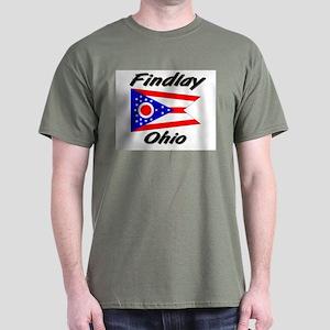 Findlay Ohio Dark T-Shirt