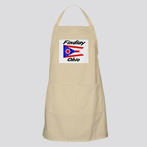 Findlay Ohio BBQ Apron