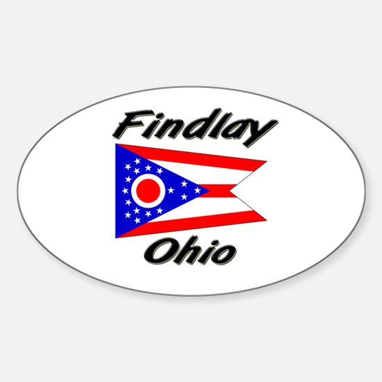 Findlay Ohio Oval Decal