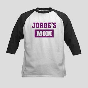 Jorges Mom Kids Baseball Jersey