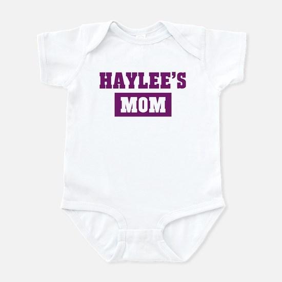 Haylees Mom Infant Bodysuit
