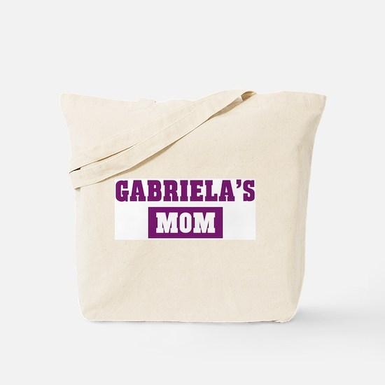 Gabrielas Mom Tote Bag