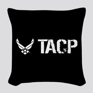 USAF: TACP Woven Throw Pillow