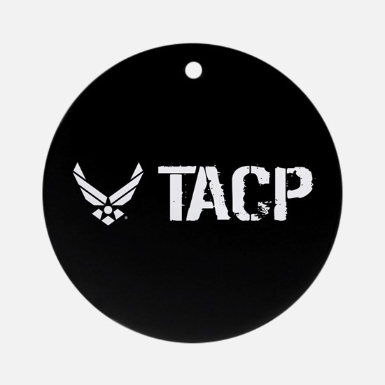 USAF: TACP Round Ornament
