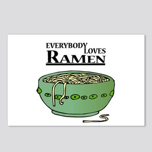 Everybody Loves Ramen (Noodles) Postcards (Package