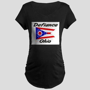 Defiance Ohio Maternity Dark T-Shirt