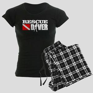Rescue Diver 3 (white) Pajamas