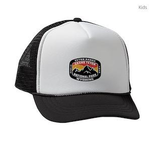 Grand Teton National Park Kids Trucker Hats - CafePress d3e253aff29b