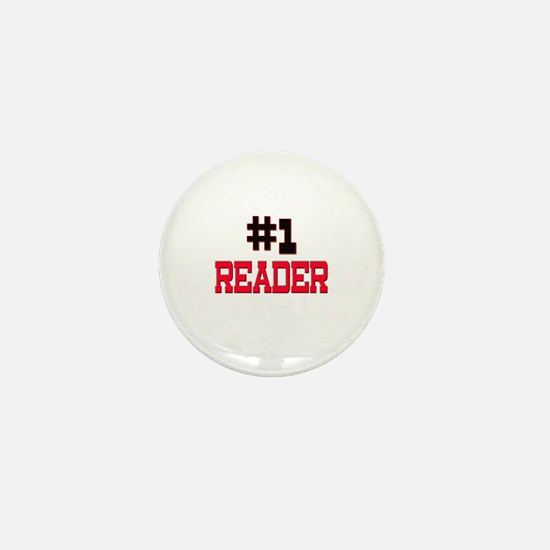 Number 1 READER Mini Button