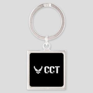 USAF: CCT Square Keychain