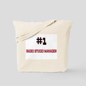 Number 1 RADIO STUDIO MANAGER Tote Bag