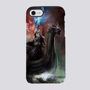 Dragon Viking Ship iPhone 7 Tough Case