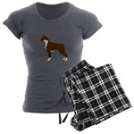 Boxer Women's Charcoal Pajamas