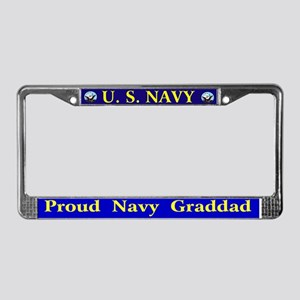 Navy League Detroit License Plate Frame