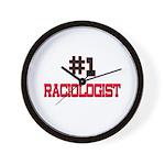 Number 1 RACIOLOGIST Wall Clock