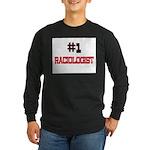 Number 1 RACIOLOGIST Long Sleeve Dark T-Shirt