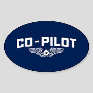 Co-Pilot Sticker (Oval)