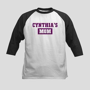 Cynthias Mom Kids Baseball Jersey