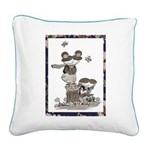 Molly & Fern Pillow- Various Square Canvas Pil