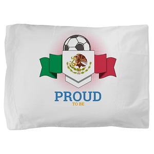 Football Mexican Mexico Soccer Team Sp Pillow Sham