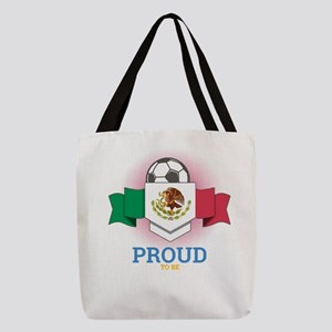 Football Mexican Mexico Soccer Polyester Tote Bag