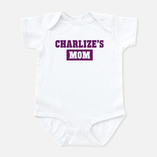 Charlizes Mom Infant Bodysuit