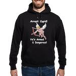 Arrest Cupid Hoodie (dark)