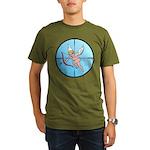 Target Cupid Organic Men's T-Shirt (dark)