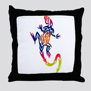 HOT LIZARD Throw Pillow
