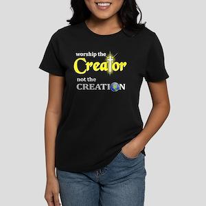 Worship Creator Women's Dark T-Shirt