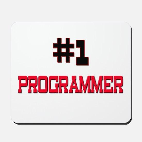 Number 1 PROGRAMMER Mousepad