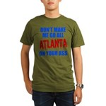 Atlanta Baseball Organic Men's T-Shirt (dark)