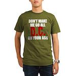 Washington Baseball Organic Men's T-Shirt (dark)