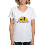 Pimp My Swine Women's V-Neck T-Shirt
