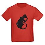 """Catoliner """"B"""" Kids Dark T-Shirt"""