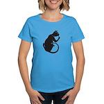 """Catoliner """"B"""" Women's Dark T-Shirt"""