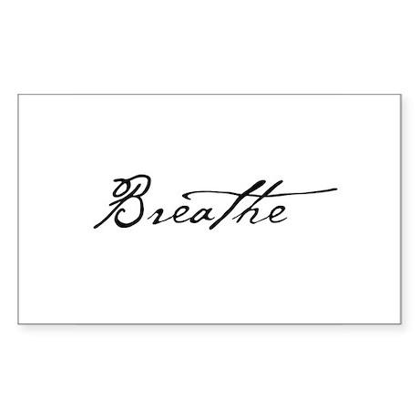 Namaste Sticker (Rectangular)