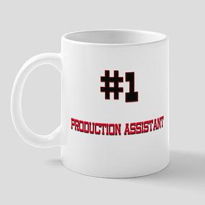 Number 1 PRODUCTION ASSISTANT Mug