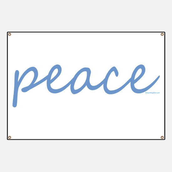 Simple Peace Banner