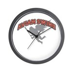 Avian Swine Wall Clock