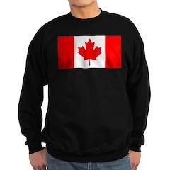 Candian Flag Sweatshirt (dark)