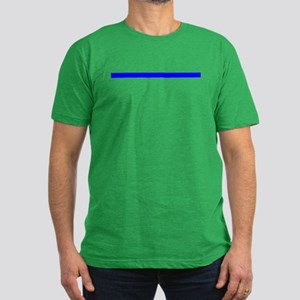 The Thin Blue Line Men's Fitted T-Shirt (dark)