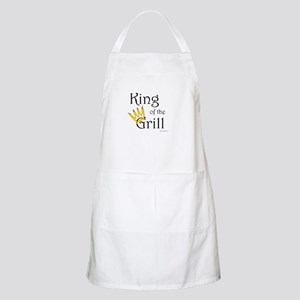 King of the Grill (pepper crown) BBQ Apron