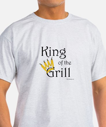 King of the Grill (pepper crown) T-Shirt
