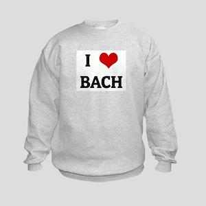 I Love BACH Kids Sweatshirt