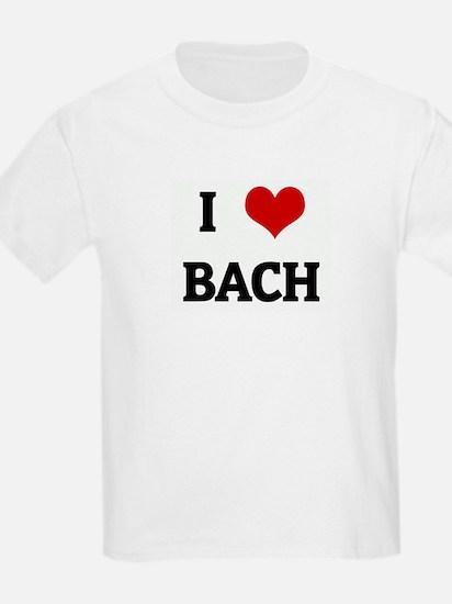 I Love BACH T-Shirt