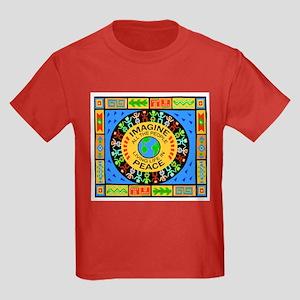 World Peace Kids Dark T-Shirt