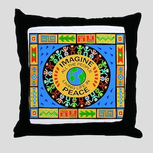 World Peace Throw Pillow