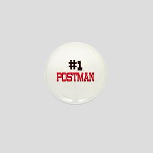 Number 1 POSTMAN Mini Button